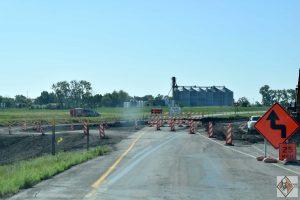 Southbound temporary gravel ramp use starts mid-week at Gardner interchange (exit 86)